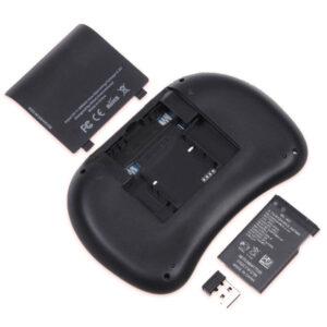 I8 mini toetsenbord achterkant