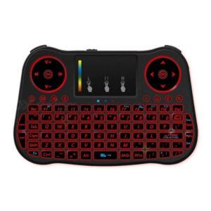MT08 RGB Rood Mini toetsenbord