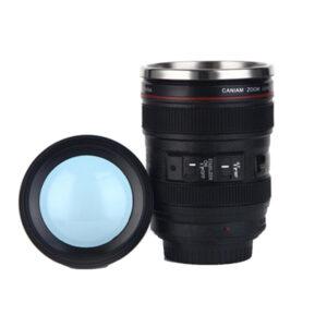 Koffiebeker – 400ml cameralens koffiemok