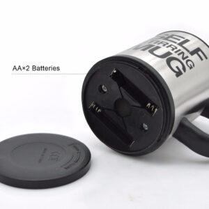 Self stirring mug 400ml batterijen